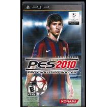 Psp Pes 2010 Pro Evolution Envio Gratis Nuevo