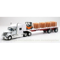 1:32 Trailer International Lonestar Montacargas Escala Idd
