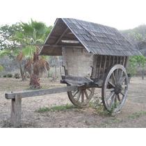 Carretas en madera ideal para jardin en mercadolibre m xico for Carreta de madera para jardin