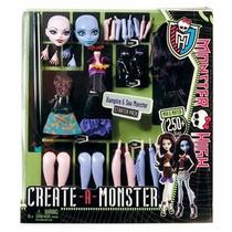 Monster High Create-a-monster Stater Pack Vampire & Sea