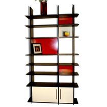 Librero Kelet, Elegante Diseño Minimalista Escandinavo Op4