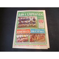Italia Los Campeones Peridico Esto Mayo 1986 Futbol