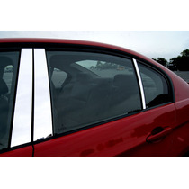 Dodge Dart 2013 Pilares Cromados 6 Piezas Importado Mmu
