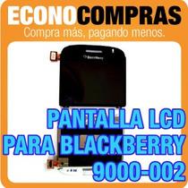 Pantalla Lcd Para Blackberry 9000-002 100% Nuevo Y Original
