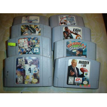 Nintendo 64 Juegos Originales De Deportes A 100 Pesos Cada 1