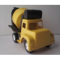 Camion Revolvedora De Cemento - Camioncito De Juguete Escala
