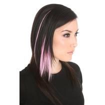 Hot Topic Extensiones De Cabello Pink Glow-in-the-dark Hair