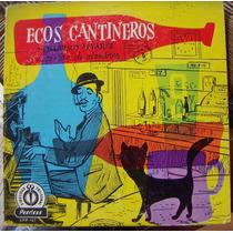 Bolero, Guillermo Alvarez, Ecos Cantineros, Lp 10´, Idd