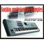 Yamaha Motif Xs 6,7,8.samples Profesionales (garantia Total)