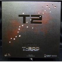 Hot Toys Terminator 2 T800 Battle Damaged Ver Dx13 Daño