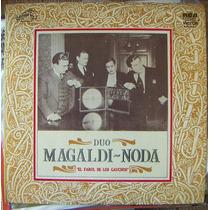 Tango, Duo Magaldi-noda(el Farol De Los Guachos)2lps 12´,css