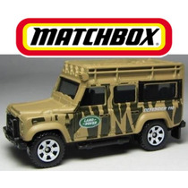 Matchbox Land Rover 110 2010, Camioneta A Escala 1:64