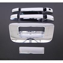 Cubre Manijas Cromadas Chevrolet Silverado 2 Puertas Y Batea