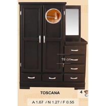 Closet Tocador Chocolate !gratis Su Hogar!
