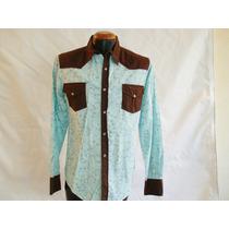 Camisa Vaquera Marca Panino M/l Alg 100% Mod 5118-4 E-shop