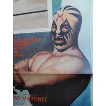 1973 Mil Mascaras Una Rosa Sobre El Ring Luchadores Lucha