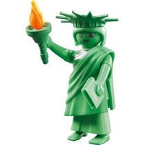 Playmobil 5244 Figura Serie 3 Estatua Libertad #5 Retromex