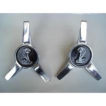 Centro De Rin Aspas Cobra Shelby Mustang , Emblema Toma De