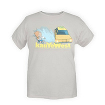 Hot Topic Playera Kanye West Splash Bear Slim-fit T-shirt Ch