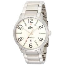 Reloj Pulsera Para Hombre Inox Plateado Lacoste 2010494 Pm0