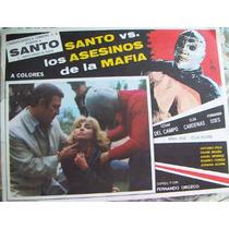 Carteles Originales, El Santo