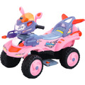 Cuatrimoto Sport Rosa Electrica Infantil Mp3-in Luces Hwo