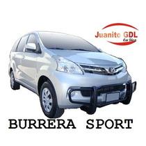 Burrera Sport Toyota Avanza 2008-2011 Y 2012 Bumper Trasero