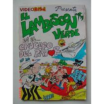 Videorisa # 20 El Avispon Verde El Lambiscon Verde Comic