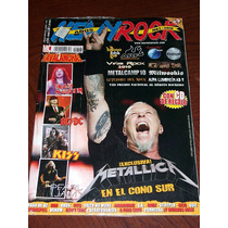 Metallica Revista Heavy Rock 318 Nueva