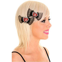 Hot Topic Moños Alice In Wonderland Red Queen Hair Pins
