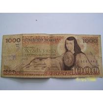Se Venden Tres Billetes De 1000 Pesos De Sor Juana