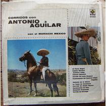 Bolero, Corridos Con Antonio Aguilar, Lp 12´ , Idd.