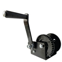 Malacate Winch Manual Negro De 2500 Lbs O 1120 Kg Sin Cable