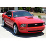 Toma De Aire Cofre Mustang Tipo Roush 05 06 07 08 09 Coupe