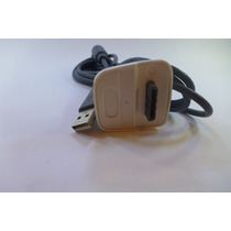 Cable 2 En 1 Carga Bateria Juega Control Inalambrico Xbox360