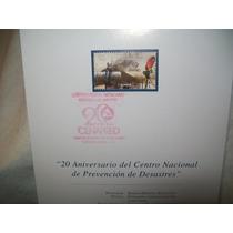 Gcg Tarjeta Con Timbre Estampilla Prevencion Desastres