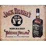 Poster Metalico Litografia Lamina Decorativa Jack Daniel's