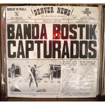 Banda Bostik 2 Lp Album Capturados En Vivo