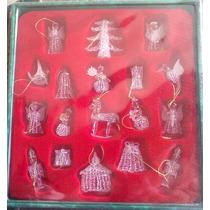 Gran Set De Figuras De Cristal