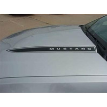 Franjas Sticker P/ Mustang 2010-2012 Dominator Hood Spears