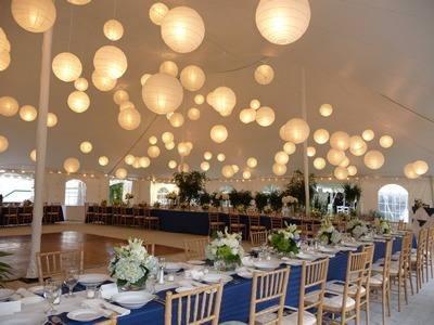 Lamparas chinas de papel 10 lamparas 30 cm con luz led for Papel para techos exteriores