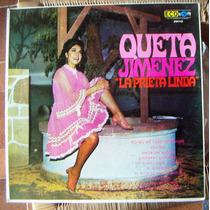 Bolero, Queta Jimenez La Prieta Linda, Lp 12´, Hwo.