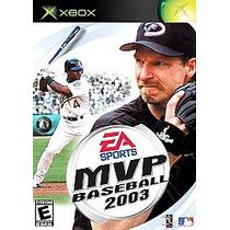 Xbox Mvp Baseball 2003 Envio Inmediato