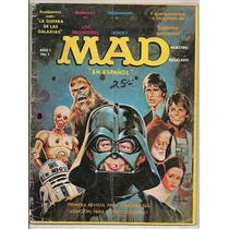 Revista Mad # 1 Star Wars Guerra De Las Galaxias De 1978