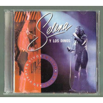 Selena Y Los Dinos En Vivo Cd Nacional 1a Ed 1993. Op4
