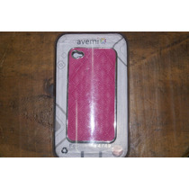 Funda Celular Avemix Protector Deluxe Color Rosa Iphone 4 4s