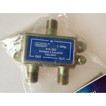 Repartidor De Señal Cable O Antena Para Dos Televisores