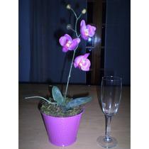 Arreglo Floral Artificial Con Orquidea