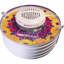 Deshidratador Alimentos Nesco 4 Bandejas Expandible Pm0