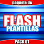 Plantillas Flash, Templates Flash Pack 01 Envío Gratis